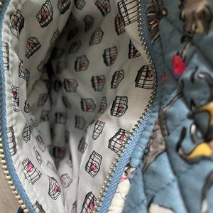 Vera Bradley Cat's Meow Iconic Campus Backpack